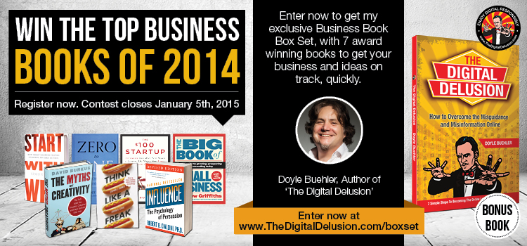 The Digital Delusion Ultimate Business Book Box Set GIveaway
