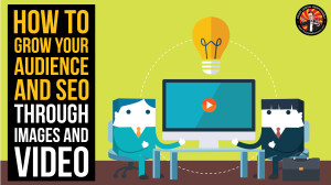 The Digital Delusion - Branding, Visuals, Design - Presentation Graphics - Title Slides -  How To Grow Your Audience and SEO Through Images and Video